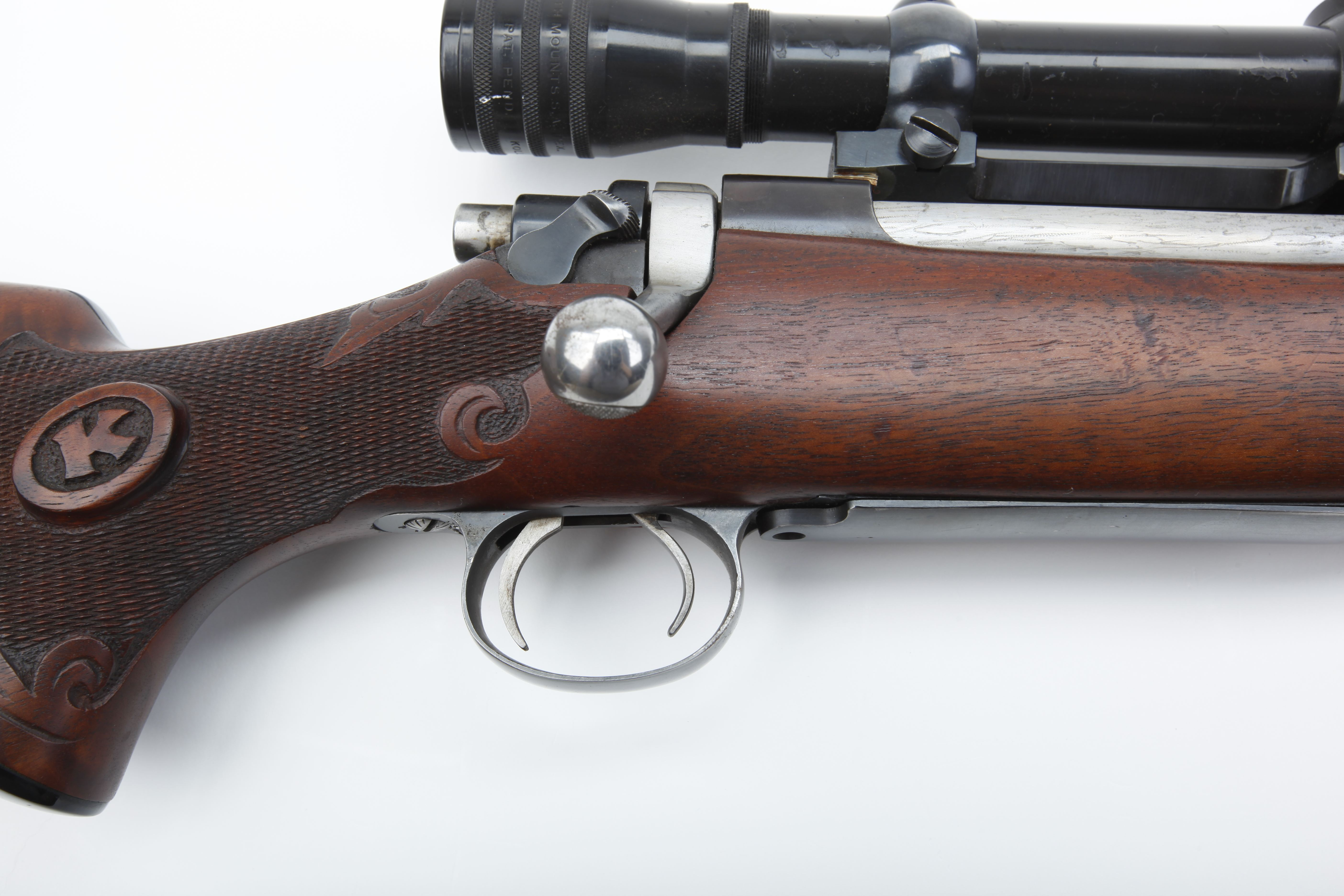 Mauser Action Falcon Test Rifle - .334 cal.