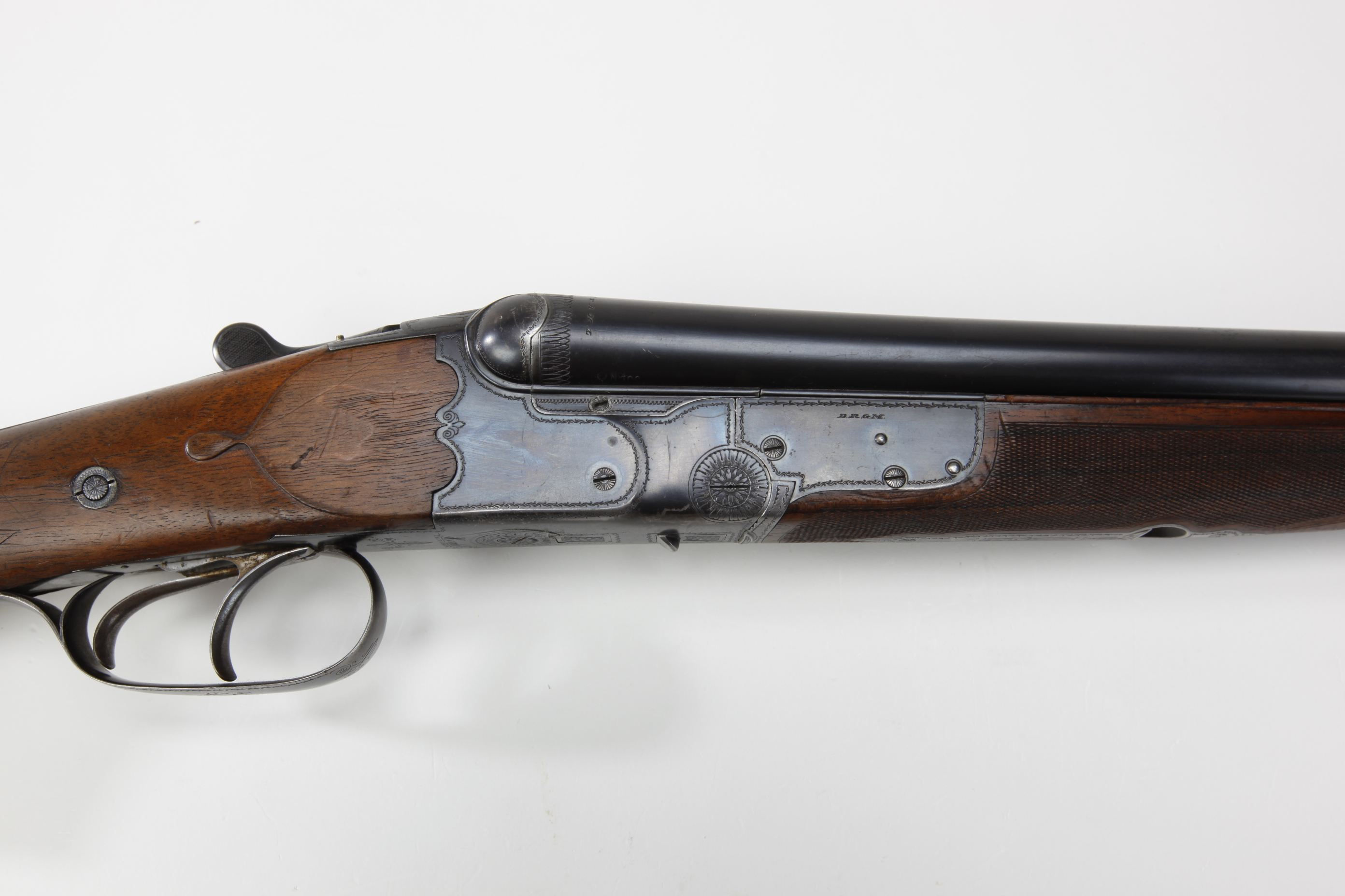 Franz Jager (Suhl, Germany) Herold Three-Barrel Shotgun