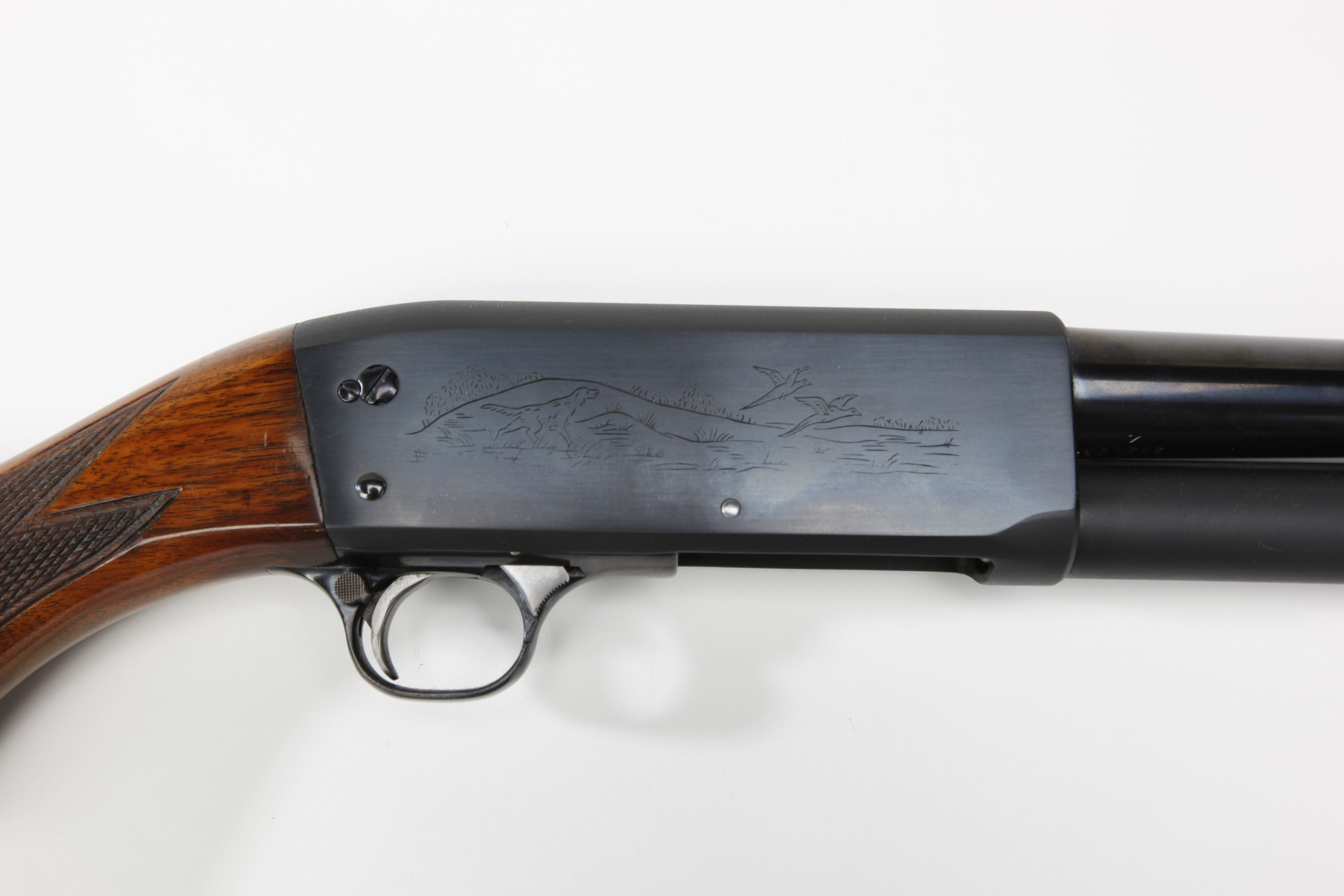 Ithaca (Ithaca, NY) Model 37 Slide-Action Shotgun