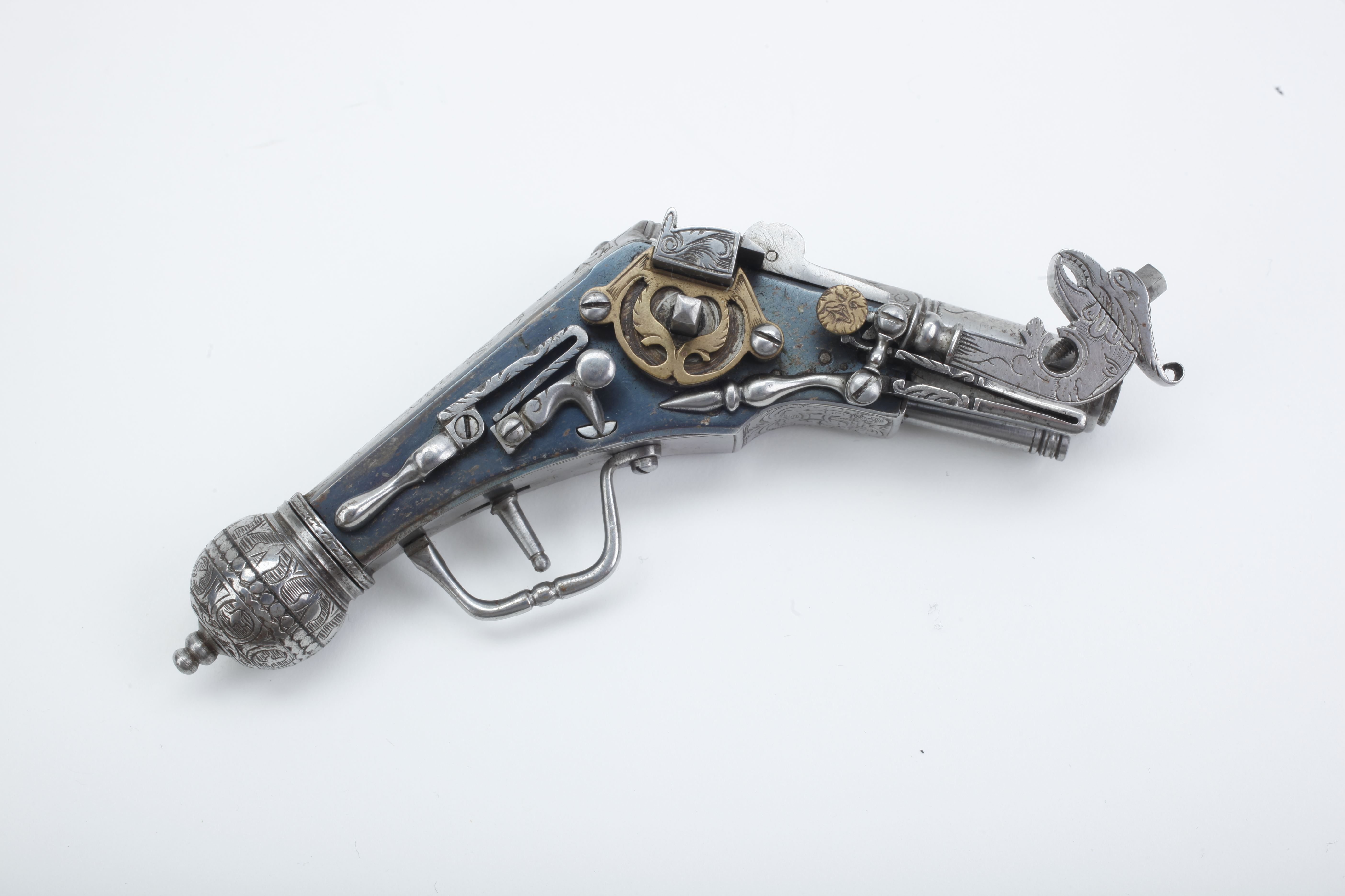 Miniature Cased Pistol