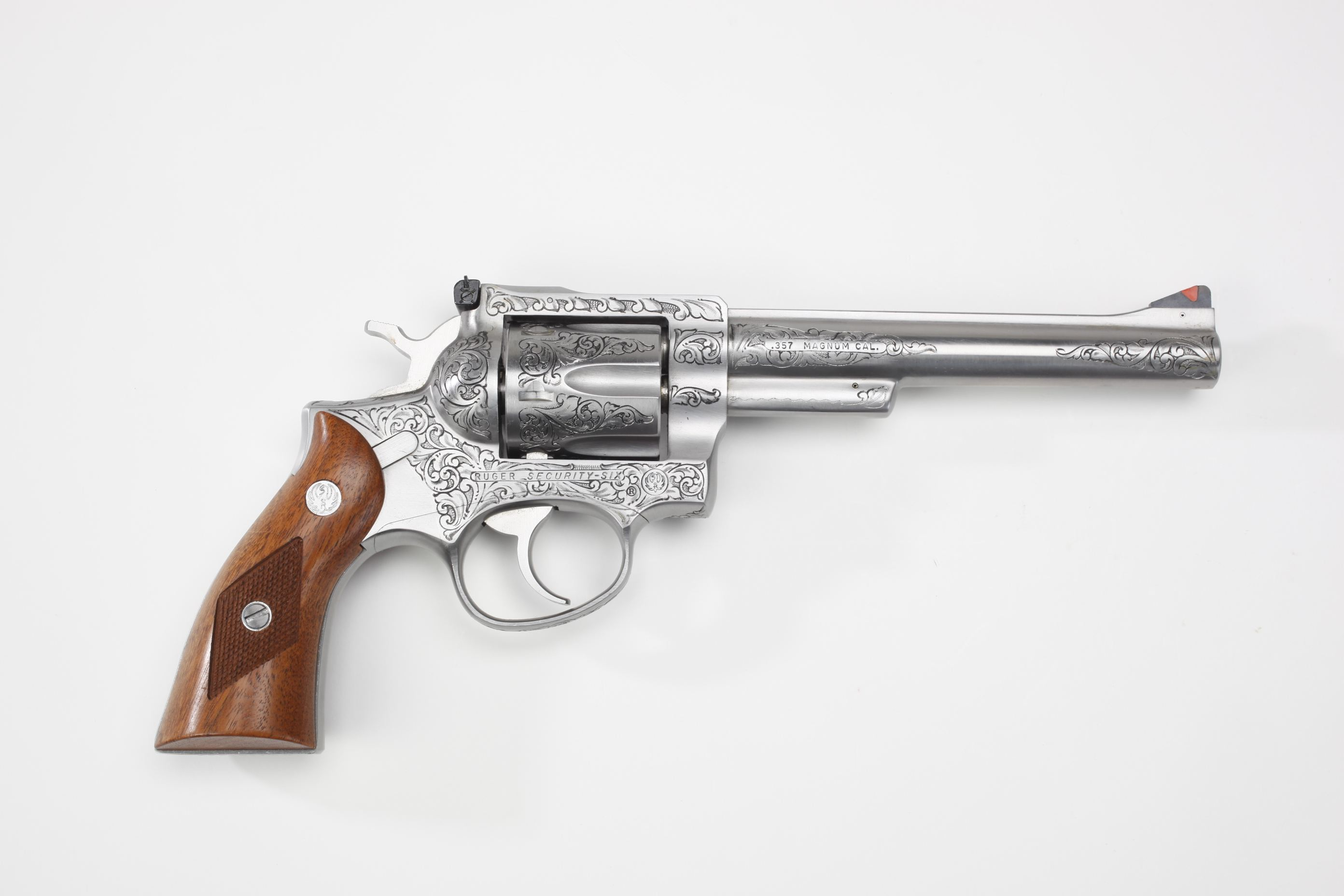 Sturm, Ruger & Co. Security-Six Double-Action Revolver Engraved