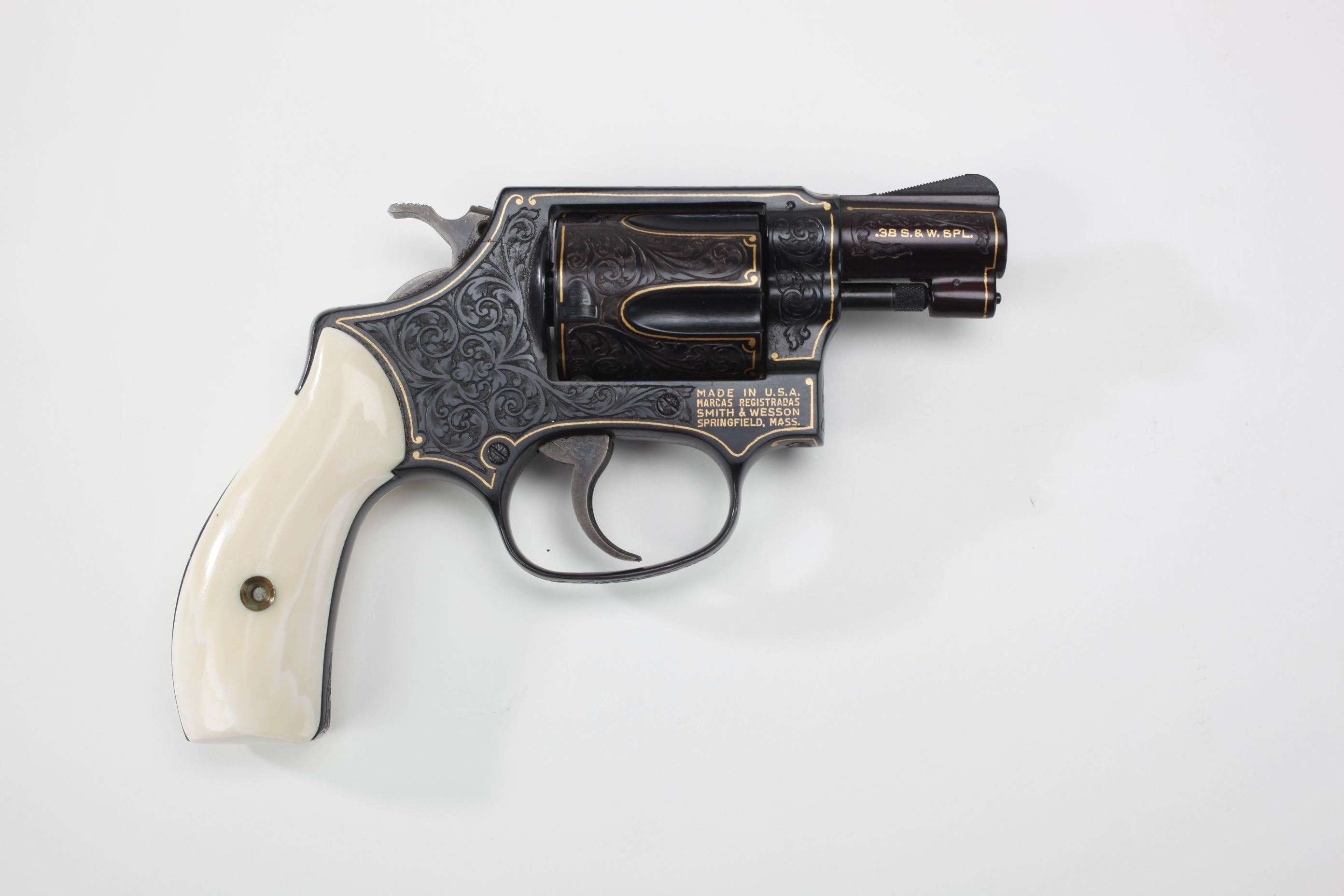 Smith & Wesson Model 36 Double-Action Revolver