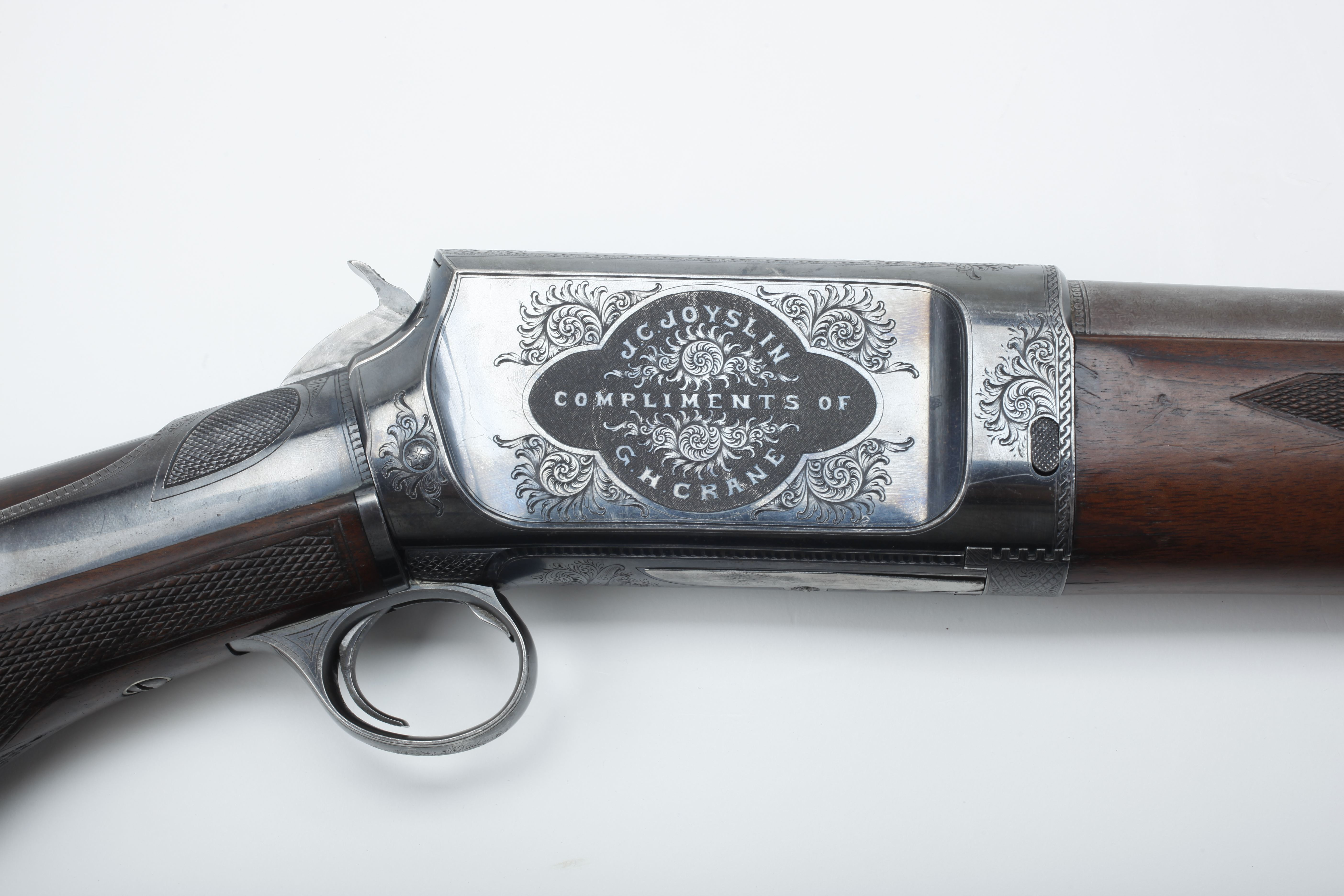 Burgess Slide-Action Shotgun