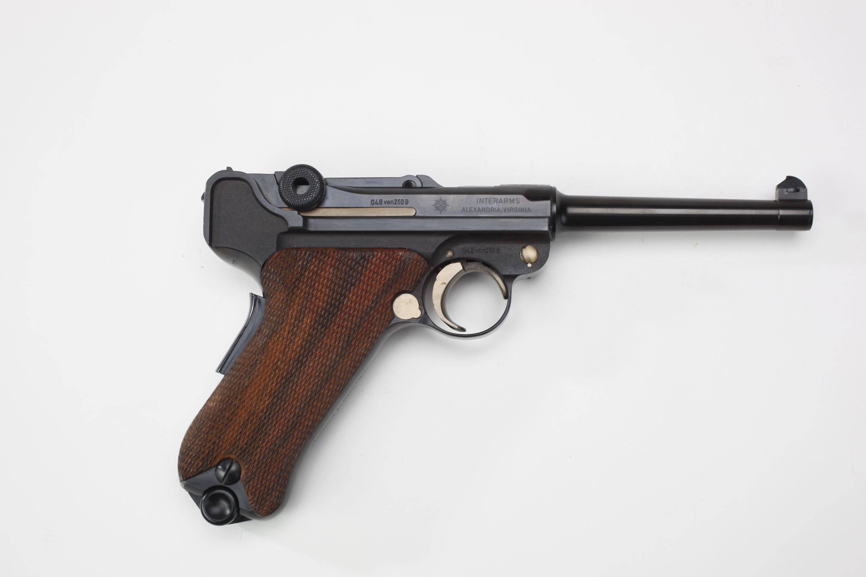 Mauser/Interarms Commemorative Luger Semi-Automatic Pistol