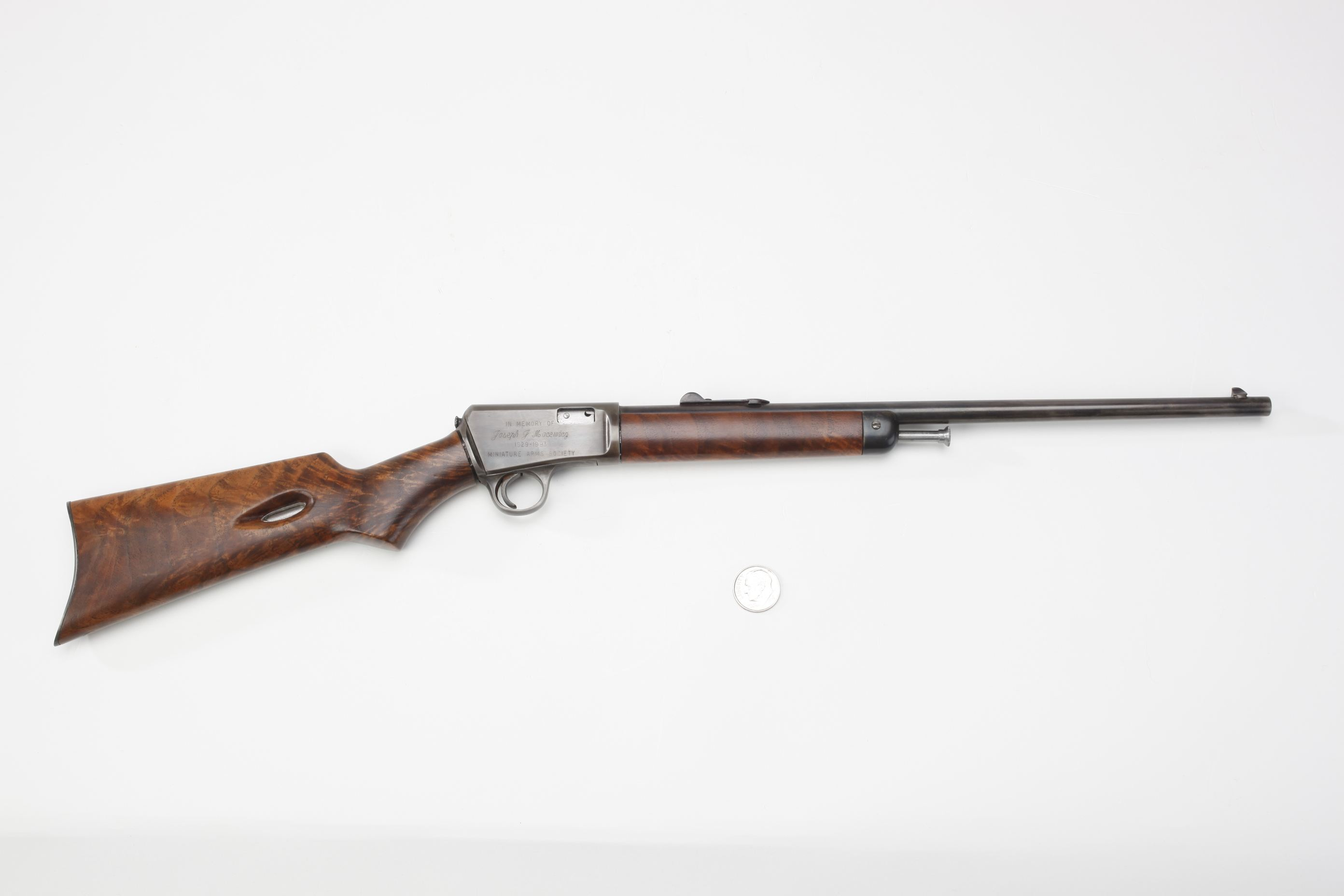 Michael J. Barrett Miniature Winchester Model 1903 Rifle