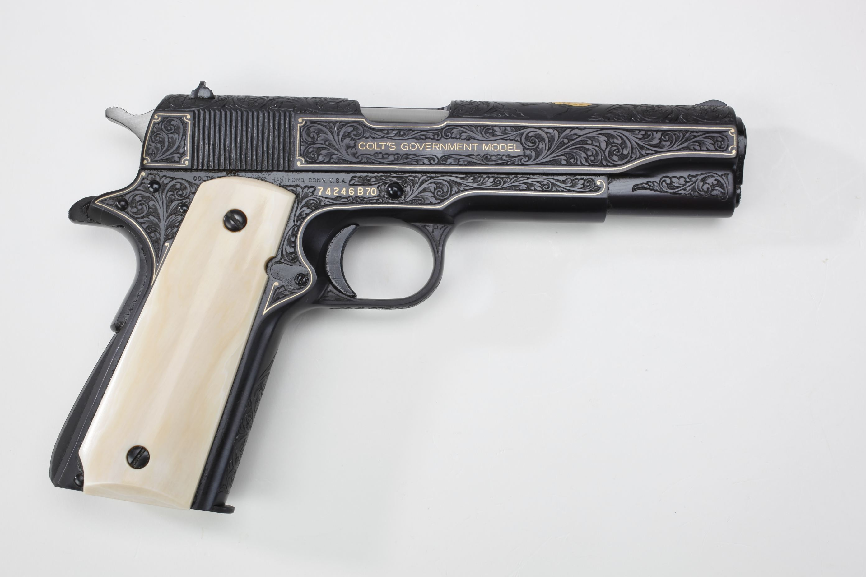 Colt (Hartford, CT) Mark IV Series 70 Semi-Automatic Pistol (1)