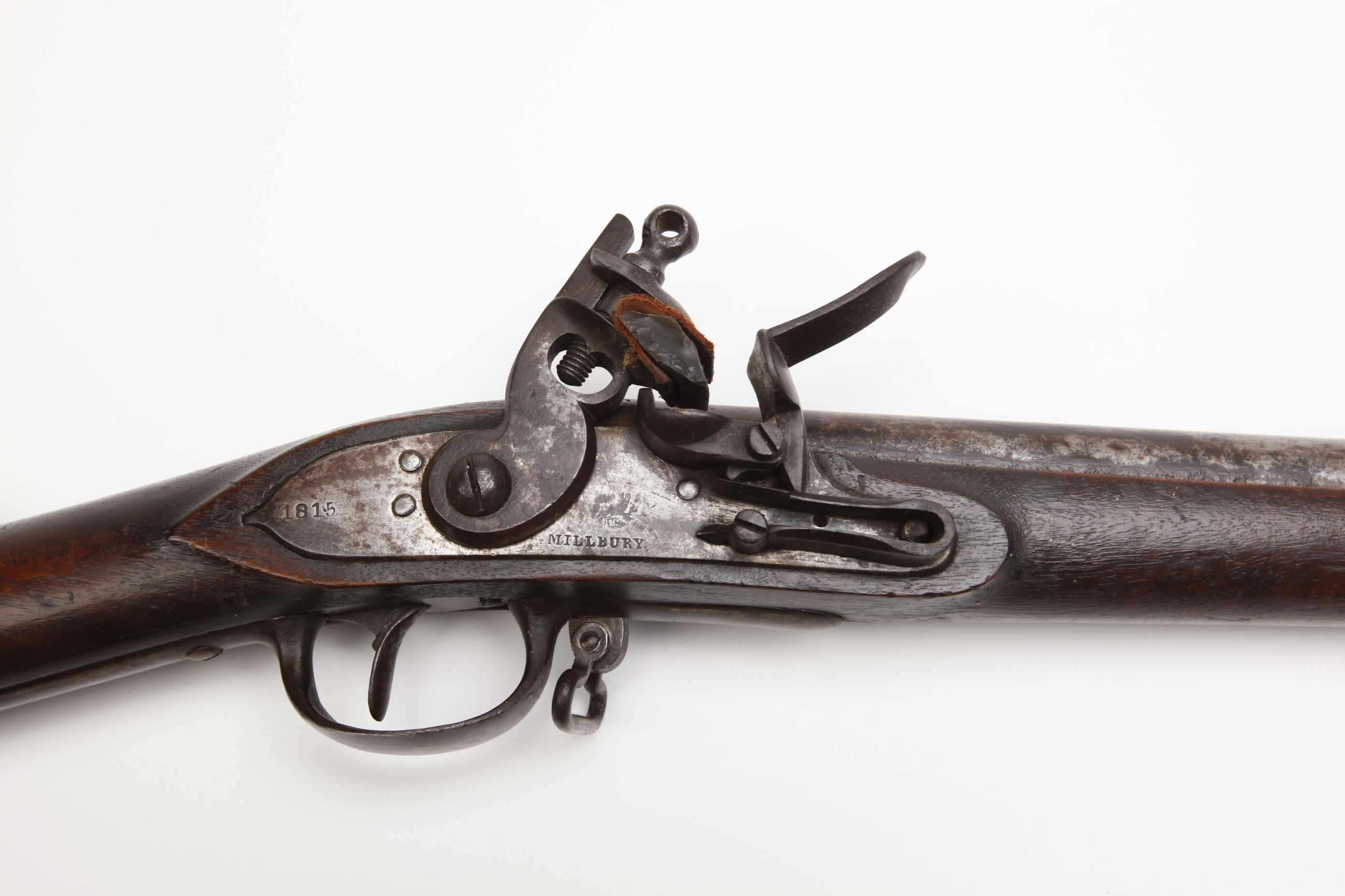 Asa Waters Jr Model 1808 Flintlock Militia Musket