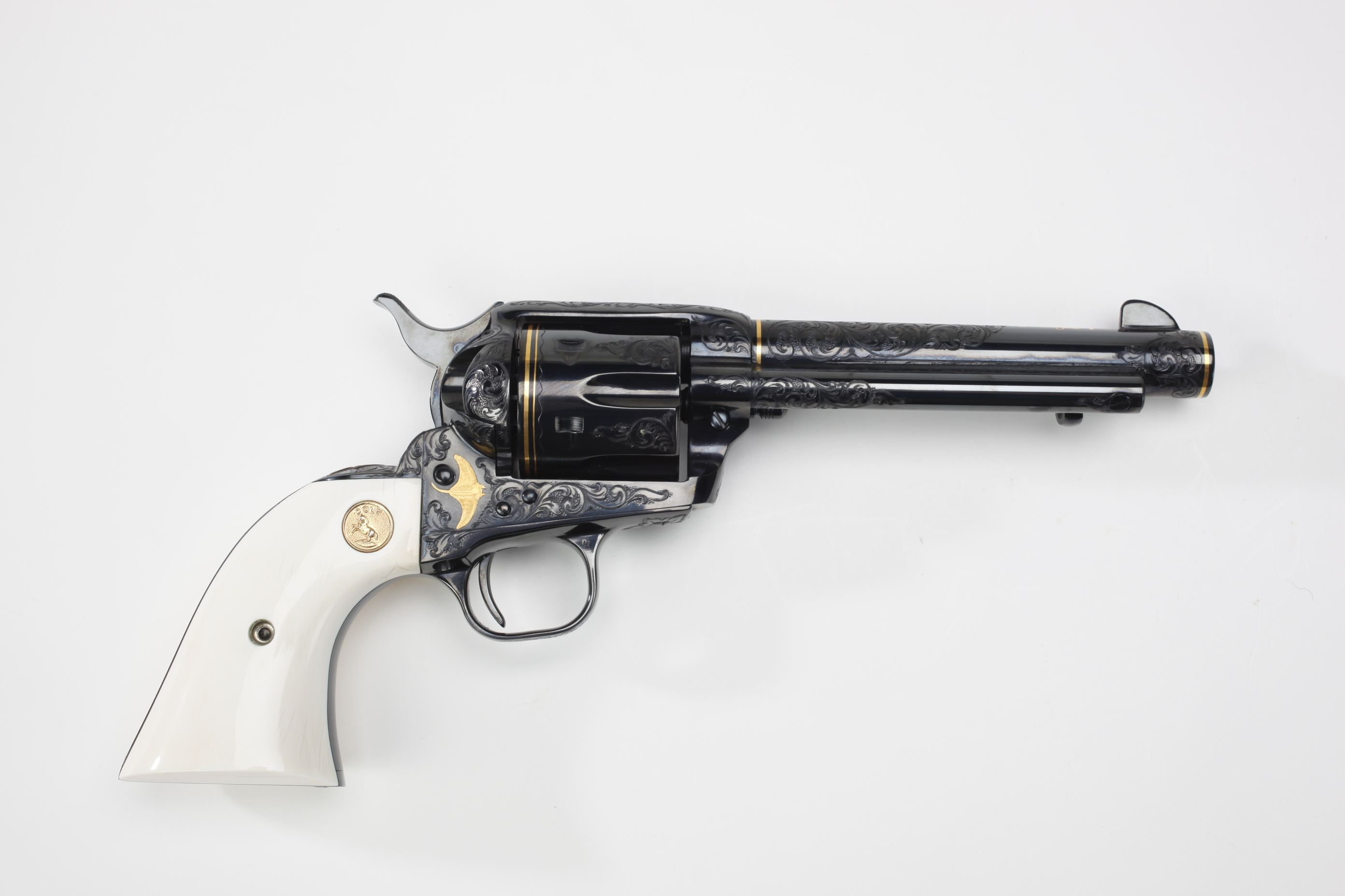 Colt Engraved Single Action Army Revolver