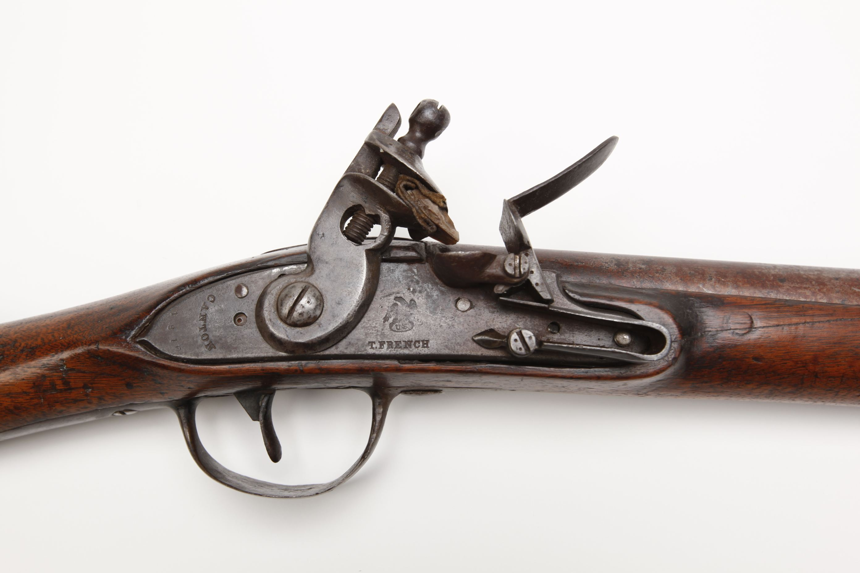 T. French Model 1808 Flintlock Militia Musket
