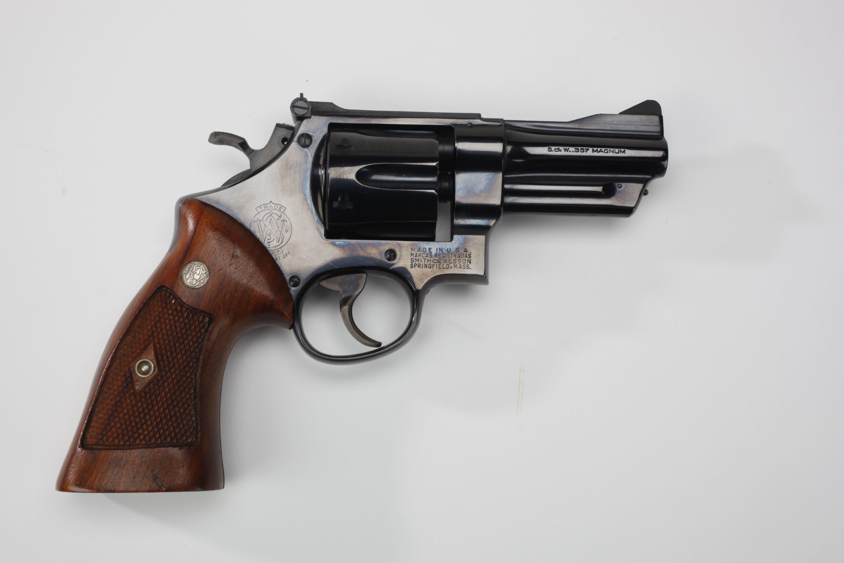 Smith & Wesson Pre Model 27 revolver