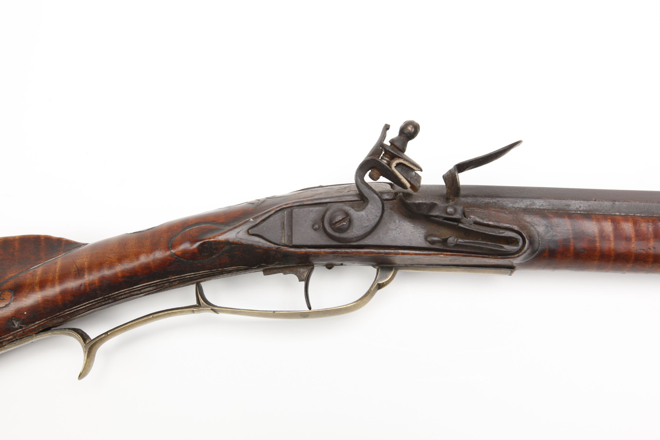 John Hagy Pennsylvania Kentucky Flintlock Rifle