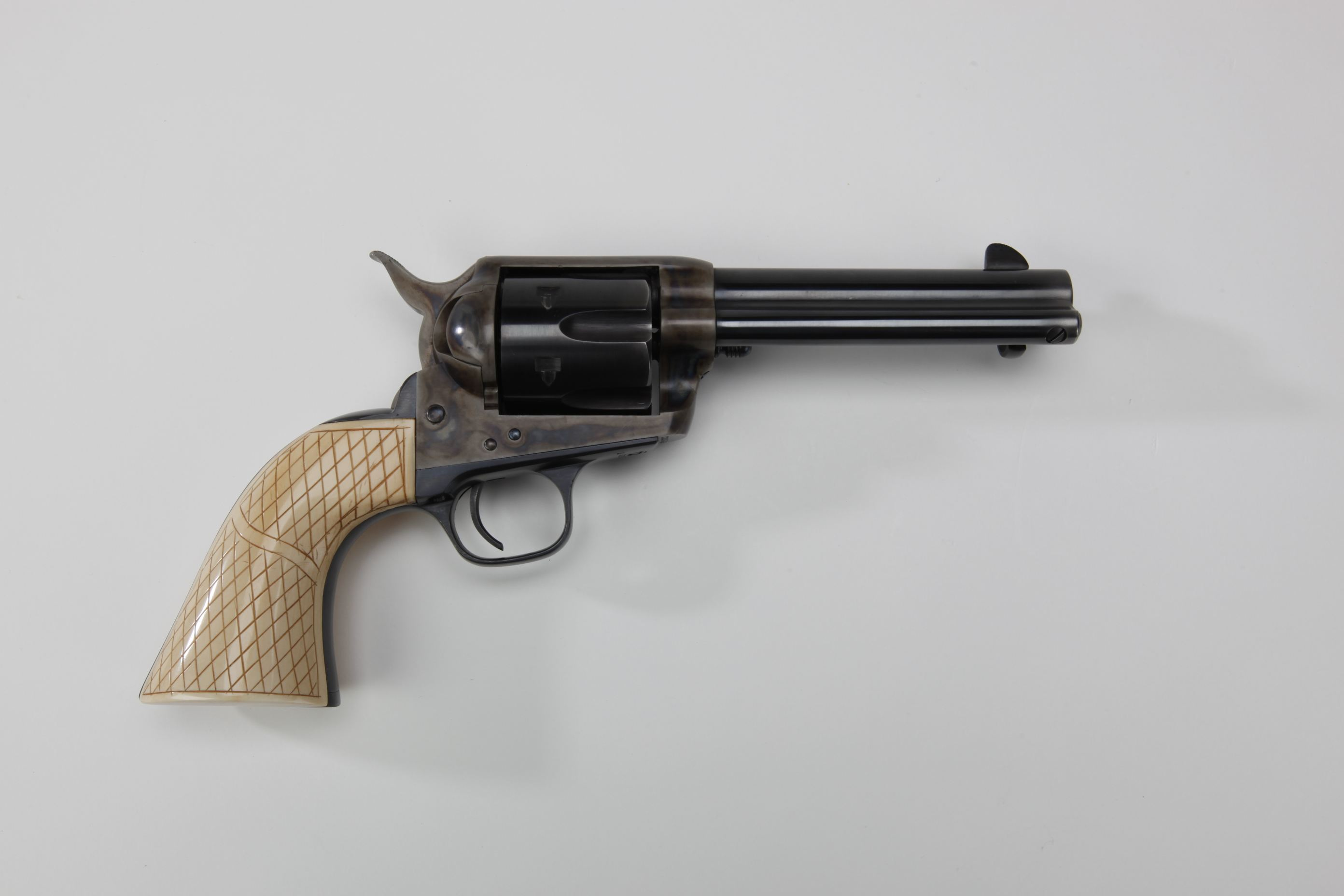 Tom Selleck Single Action Army revolver with ivory grips