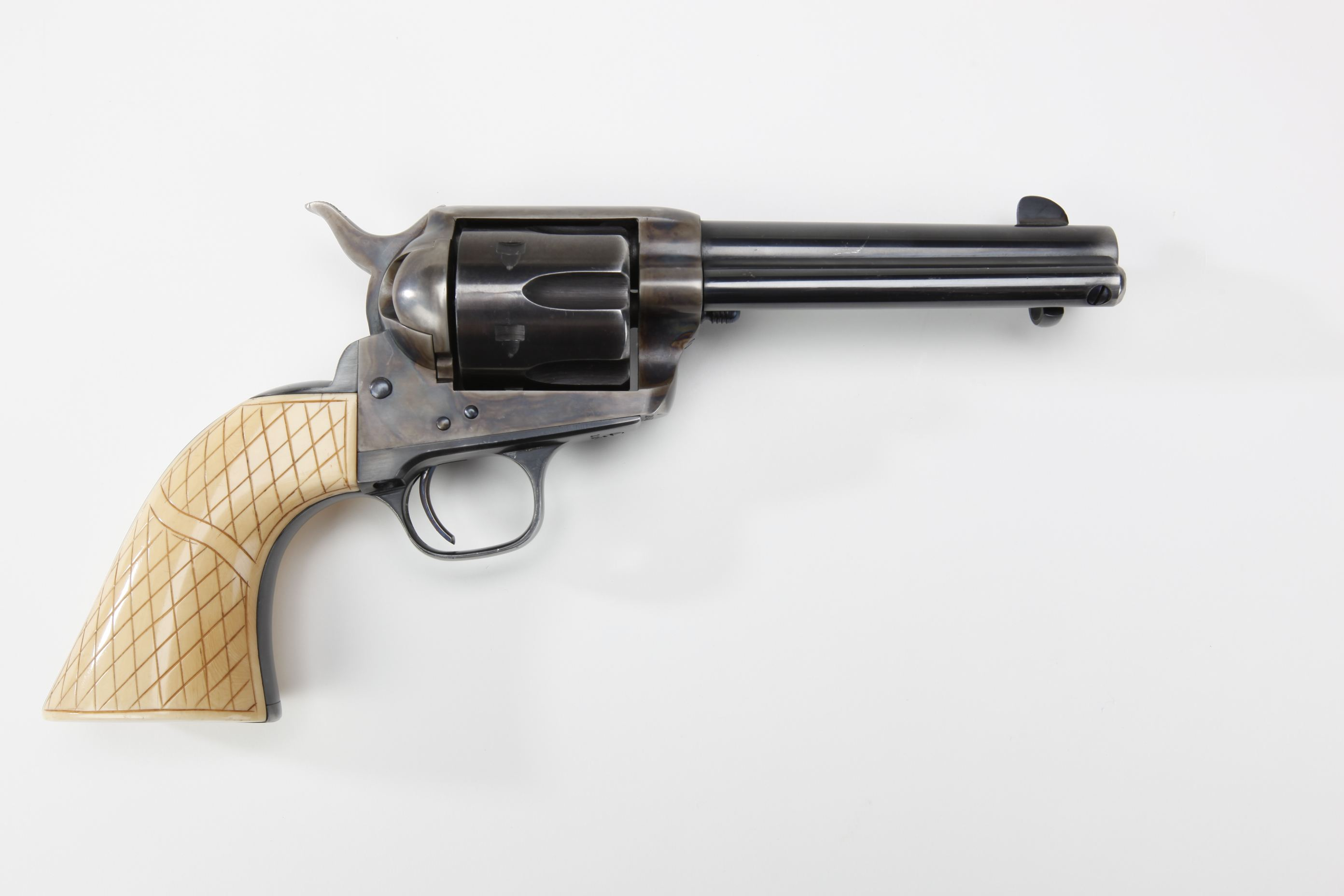 Tom Selleck Colt Single Action Army revolver with ivory grips