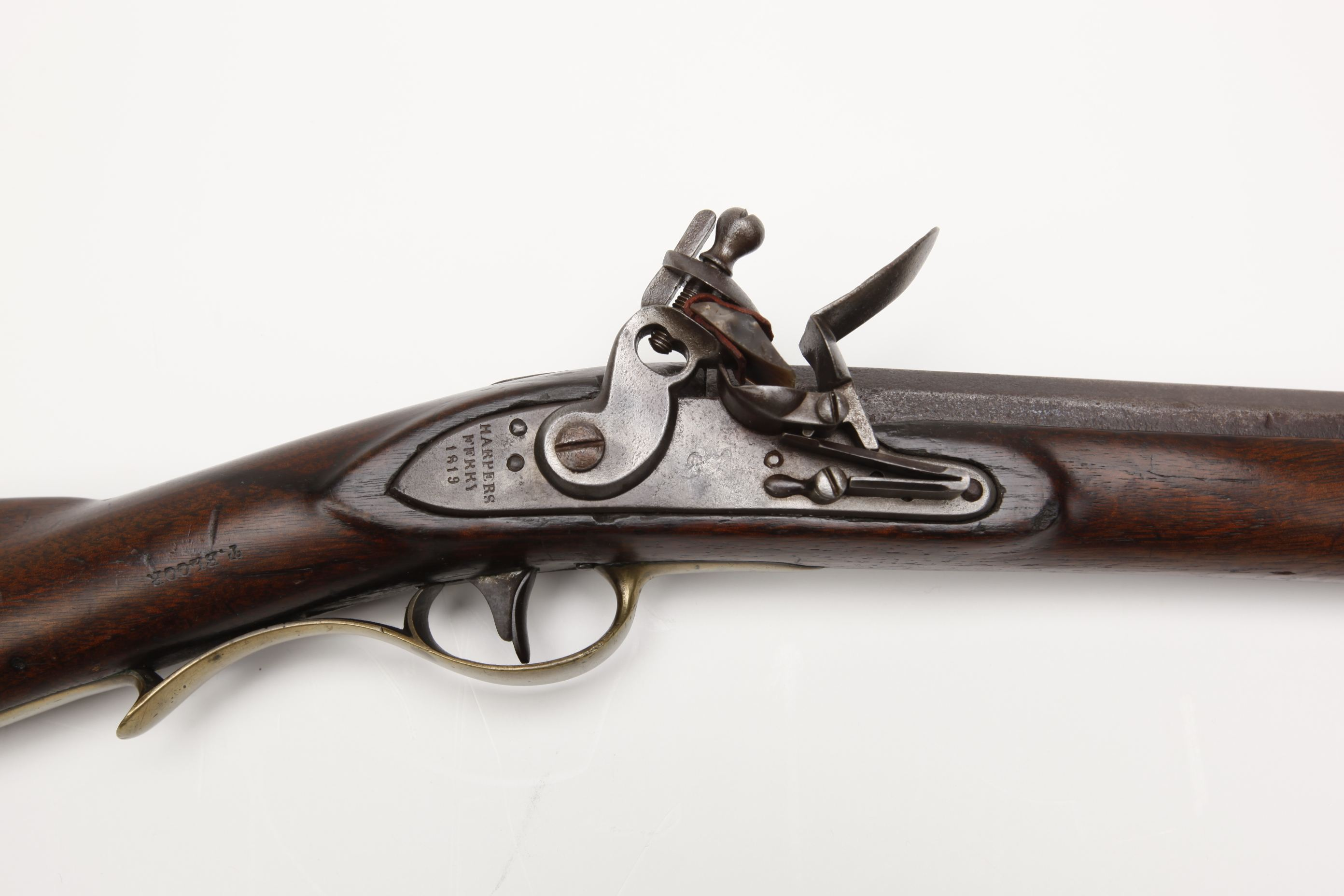 U.S. Harpers Ferry Model 1803 Flintlock Rifle
