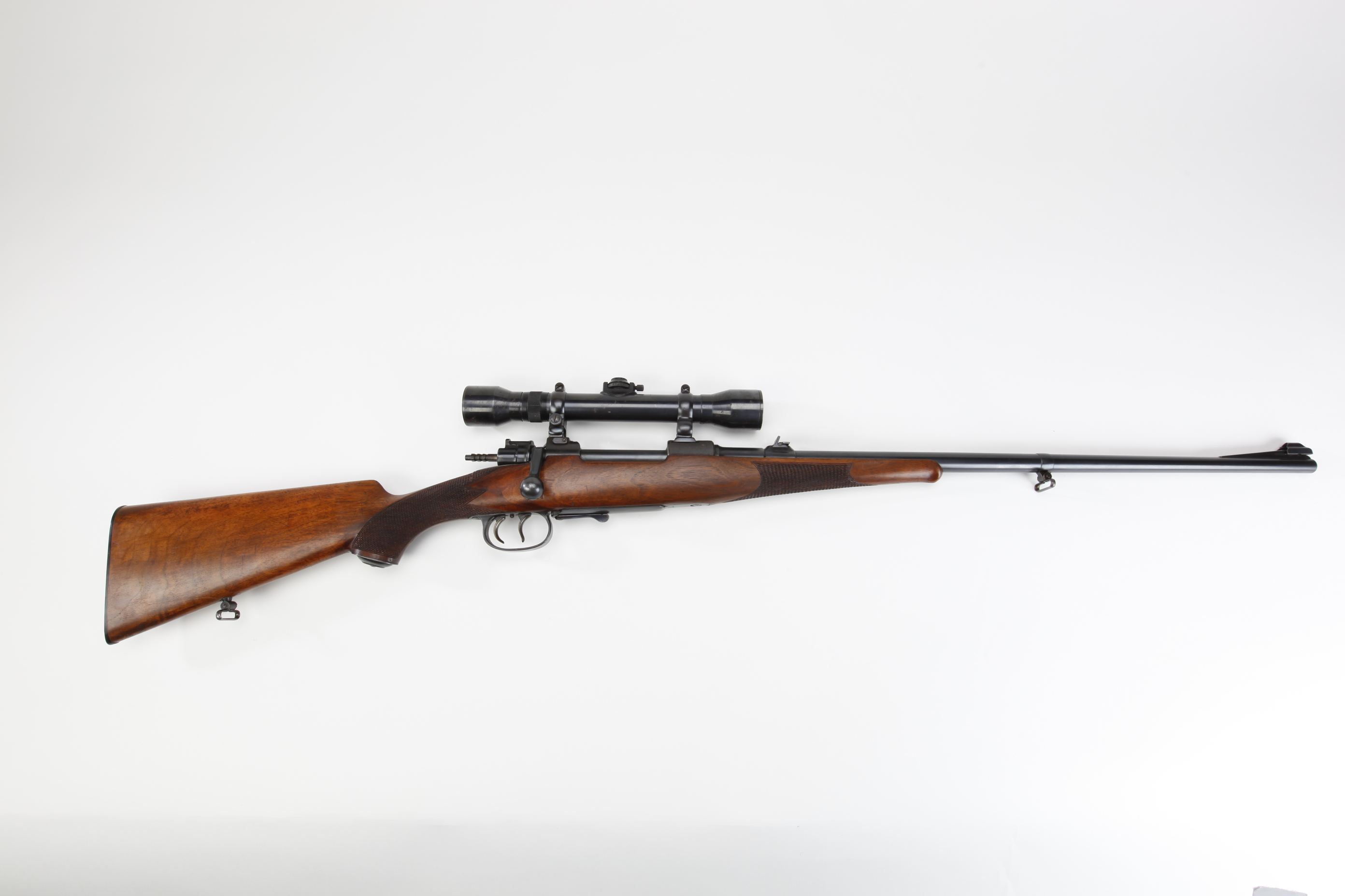 Mauser Type B Bolt Action Rifle with telescopic sight