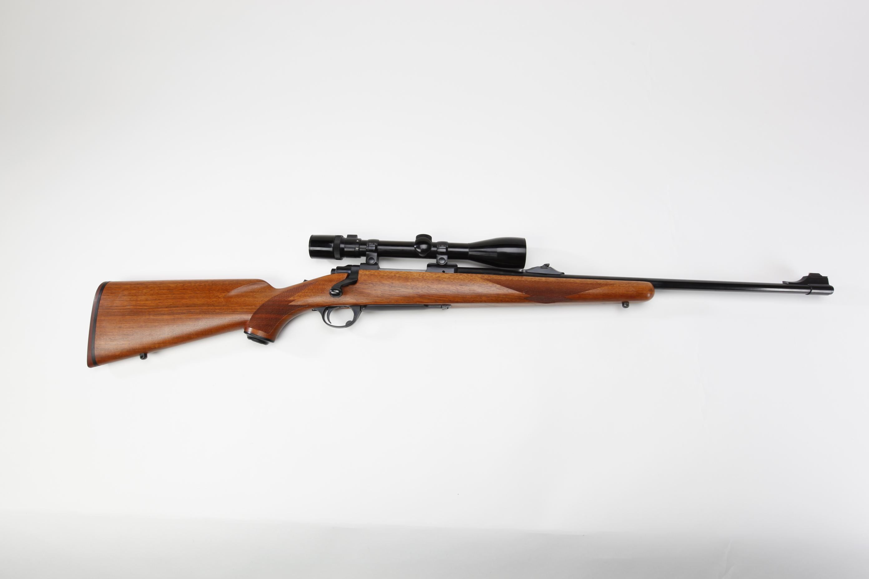Ruger and Co Model 77 Bolt Action Rifle with telescopic sight