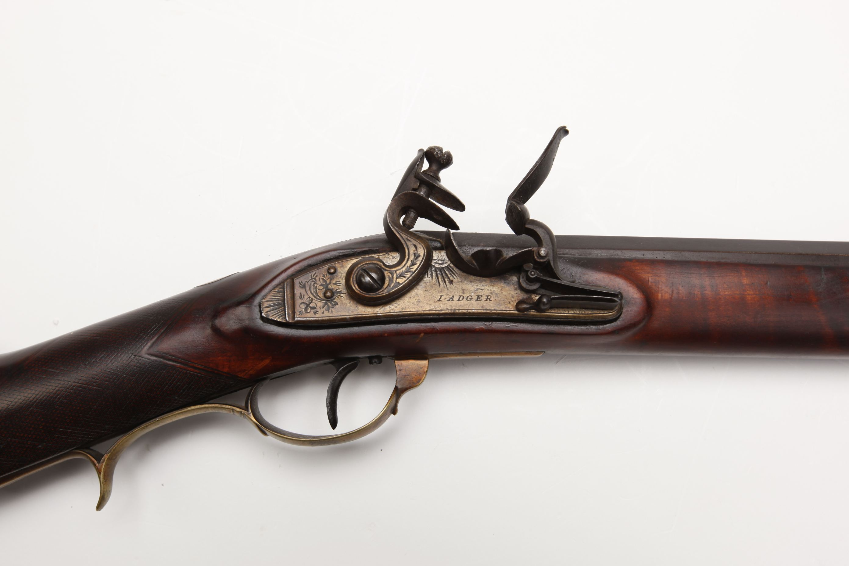P. Quattlebuw Flintlock Rifle