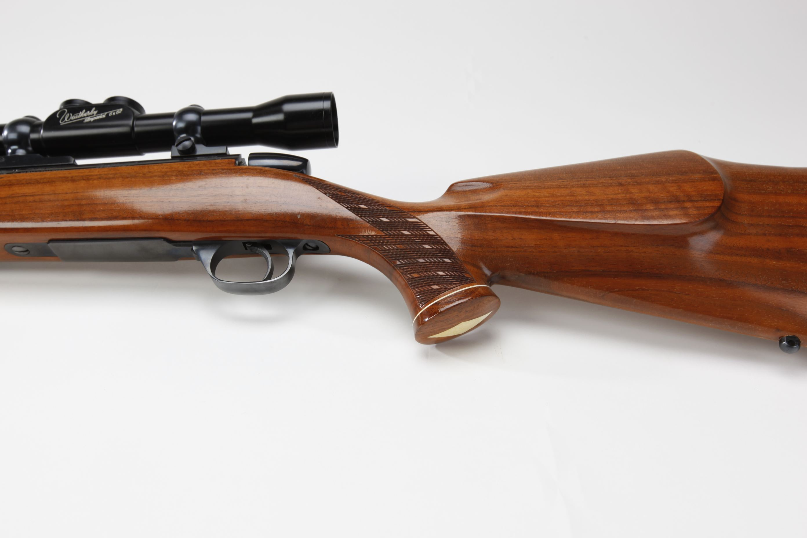 Weatherby Mark V Varmintmaster Bolt Action Rifle with telescopic sight