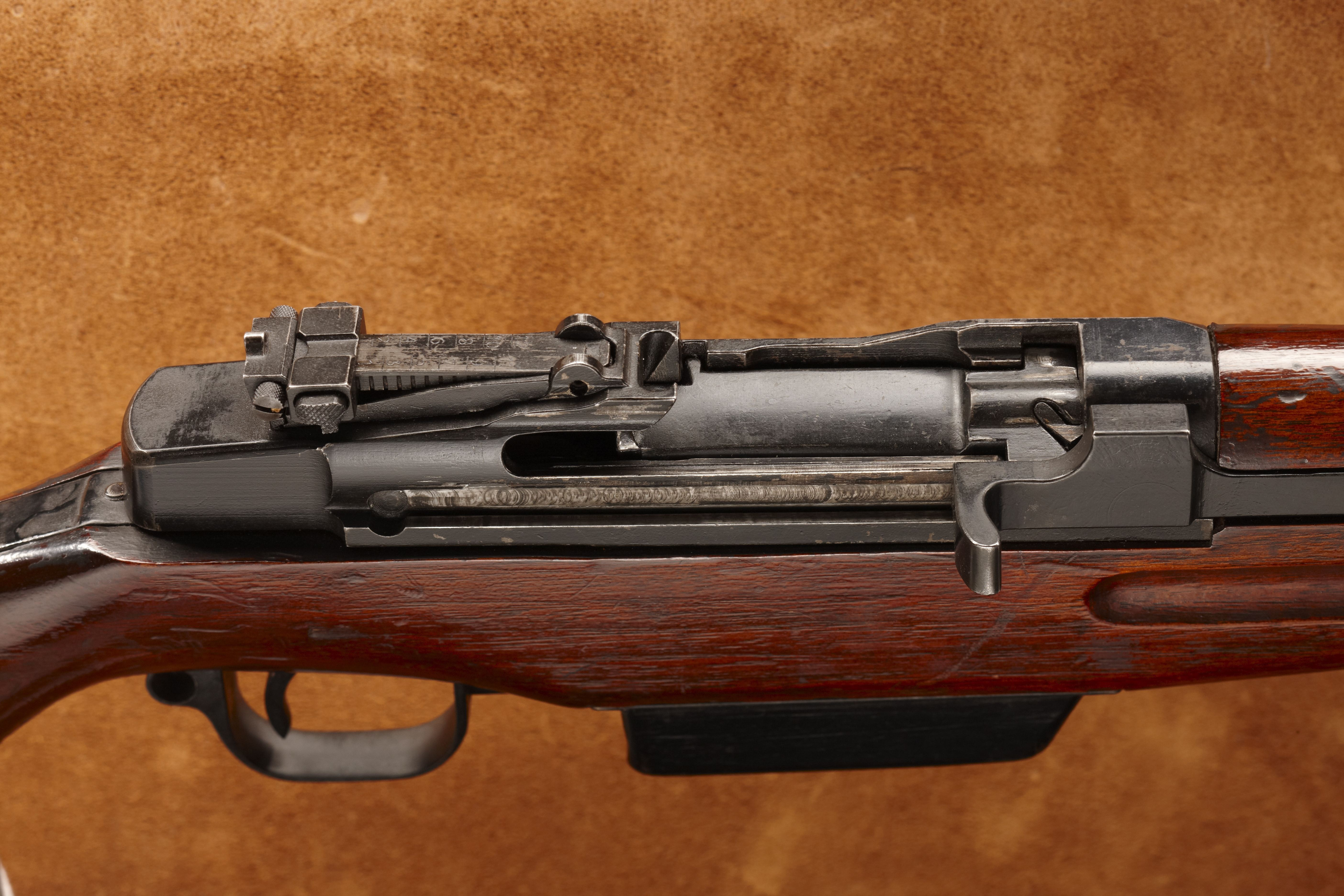 ''Japanese Garand'' WWII Semi-Automatic Rifle