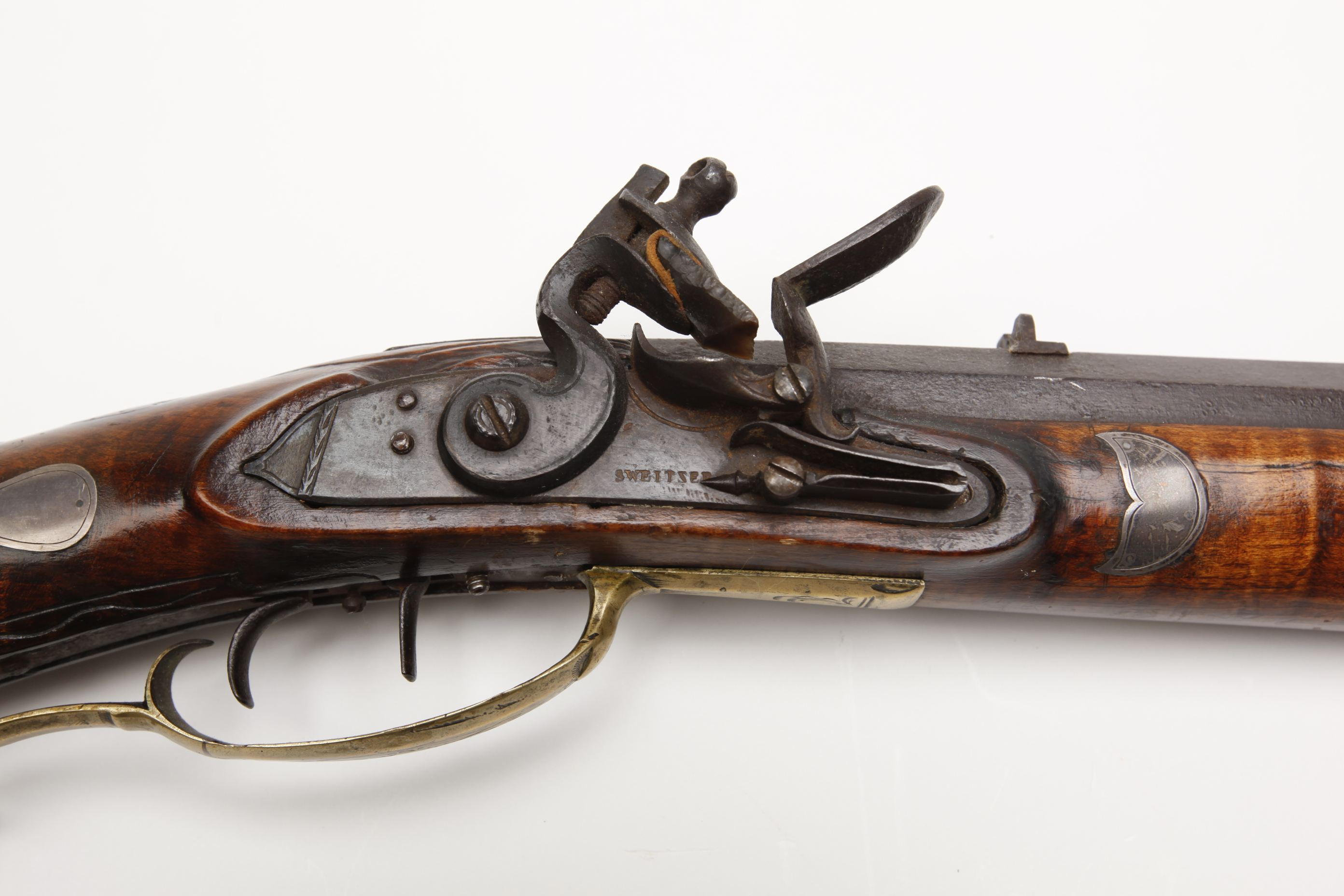 Melchior Fordney Heavy Barrel Flintlock Rifle