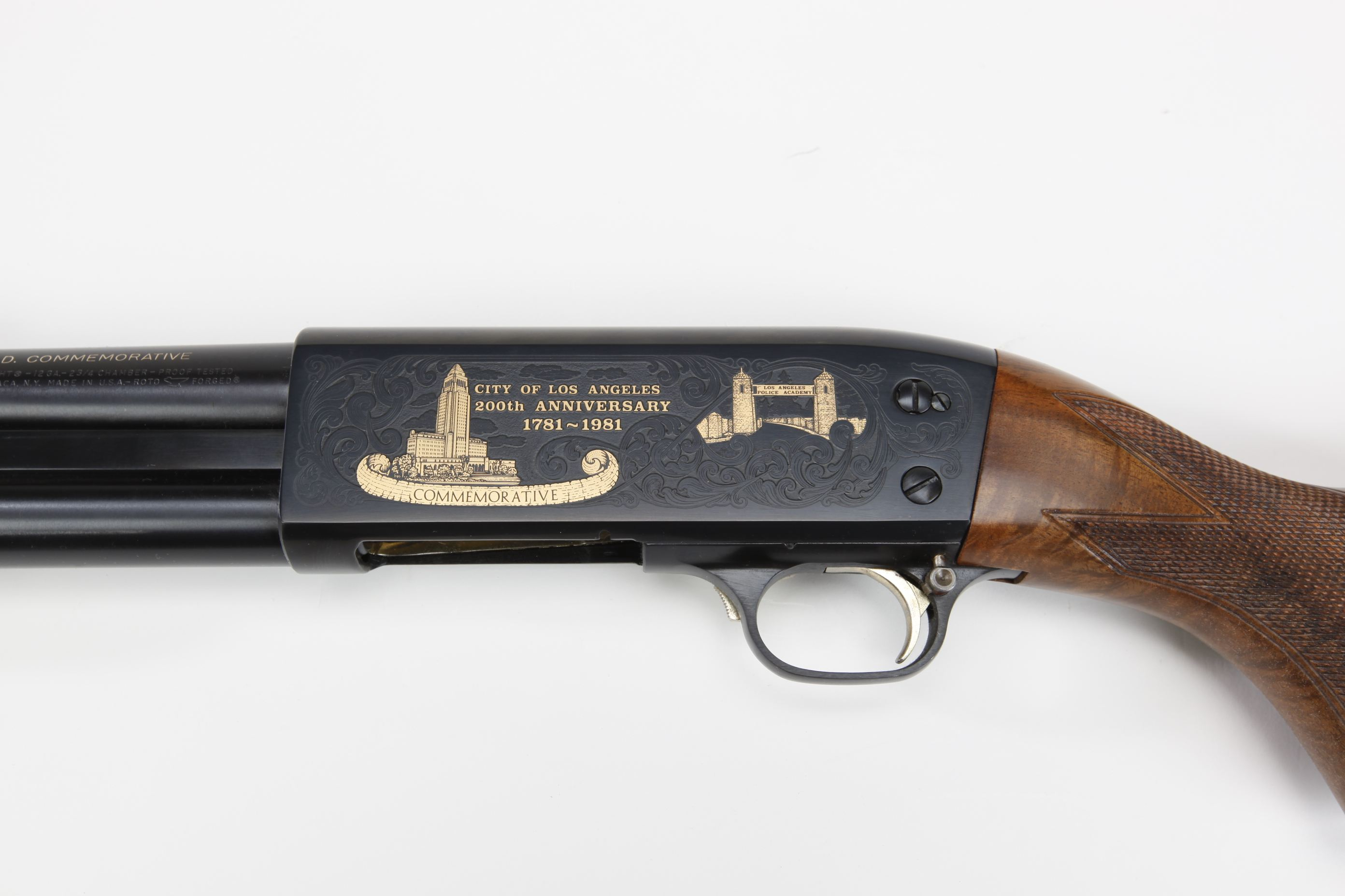Ithaca Model 37 Slide Action Shotgun