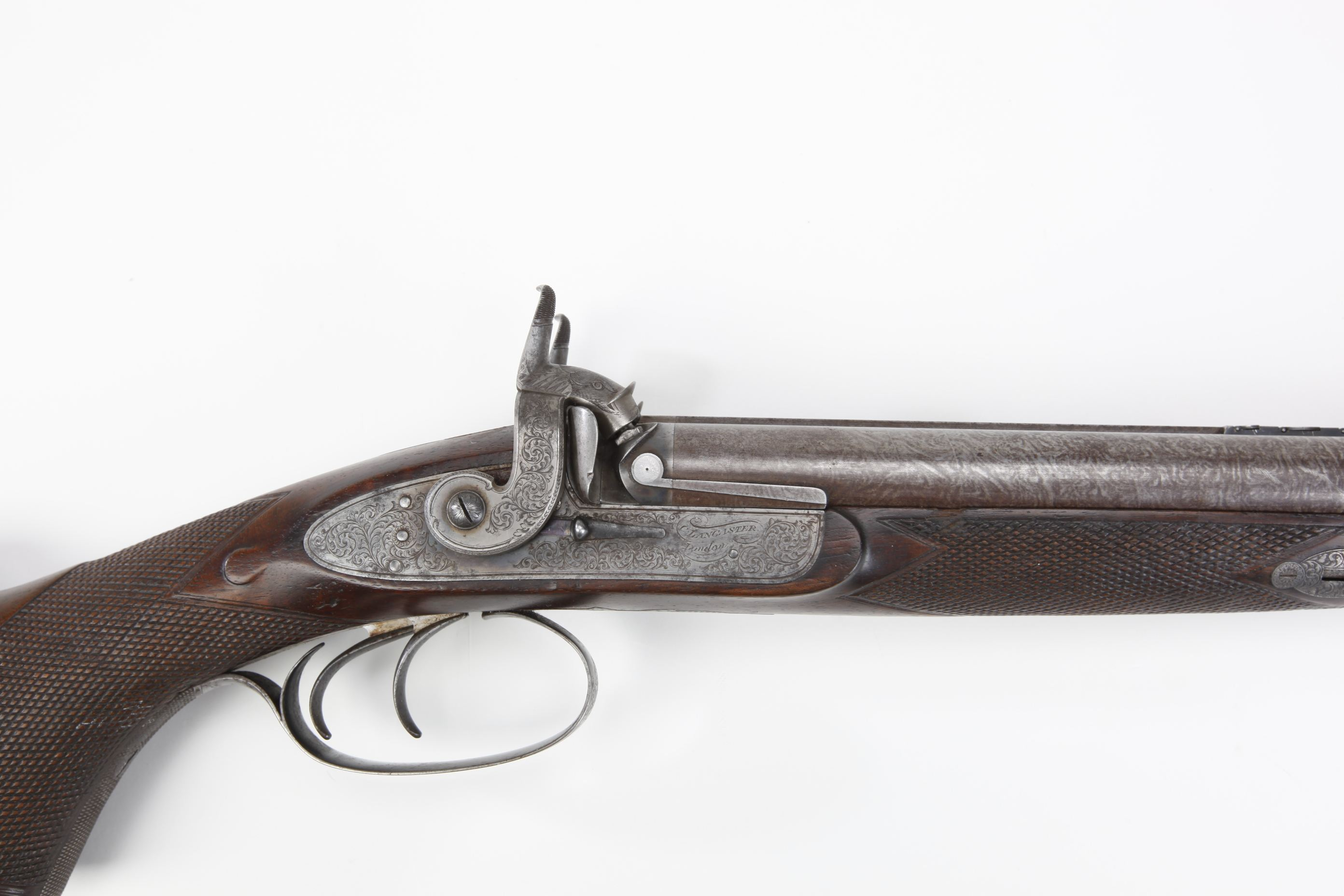 Charles Lancaster Percussion Combination Gun