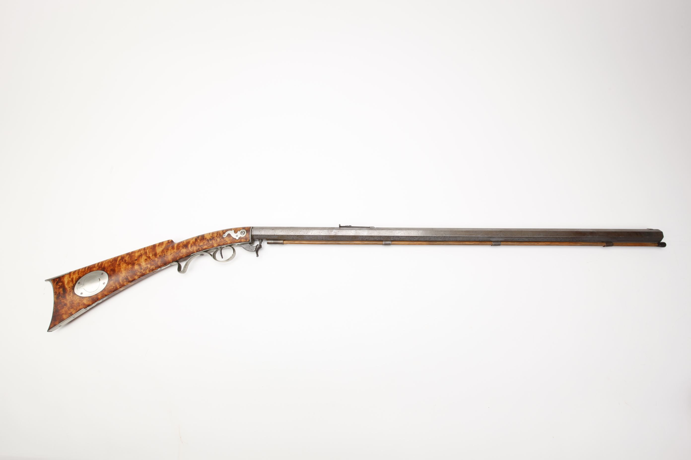 Nicanor Kendall (Windsor, VT) Underhammer Percussion Rifle