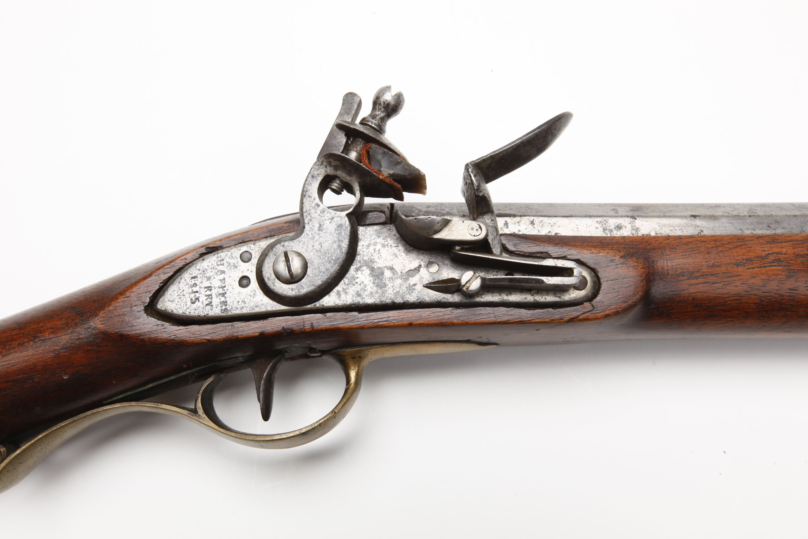 U.S. Harpers Ferry Model 1803 Flintlock Rifle First Production